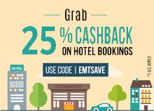 25% Cashback Offer