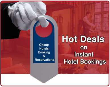 Discount on instant hotel booking.