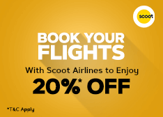 Scoot Air Offer