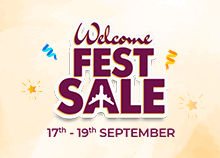 Welcome Fest Sale