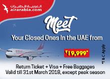 Air Arabia Offers