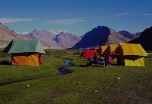 Places for Camping in India