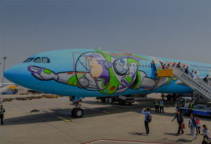 China Eastern Airline Launched Toy Story Themed Airplane