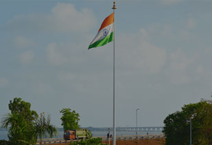Tall Flag in India