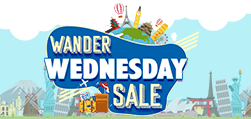 Wander Wednesday Sale