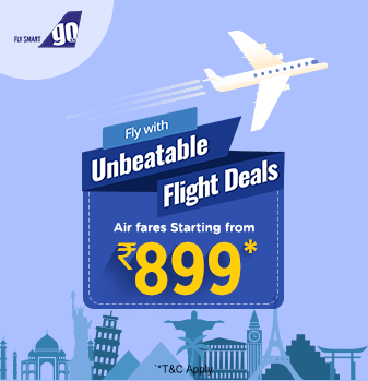 GoAir Offers Sale on Flight Tickets at Fare Starting from Rs.899
