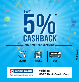 5-percent-cashback-hdfc  Offer