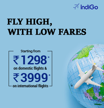IndiGo Offer on Domestic & International Flights