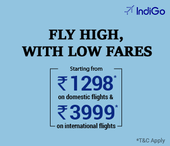Indigo & SpiceJet offers International tickets from Rs.3999