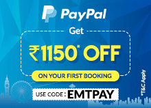 Enjoy PayPal Offers on Flights and Hotels - EaseMyTrip