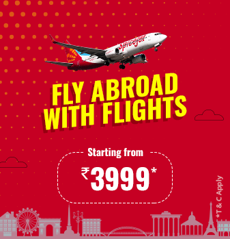 SpiceJet Offers Airfare Sale at on International Flights