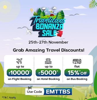 travelicious-bonanza-sale Offer
