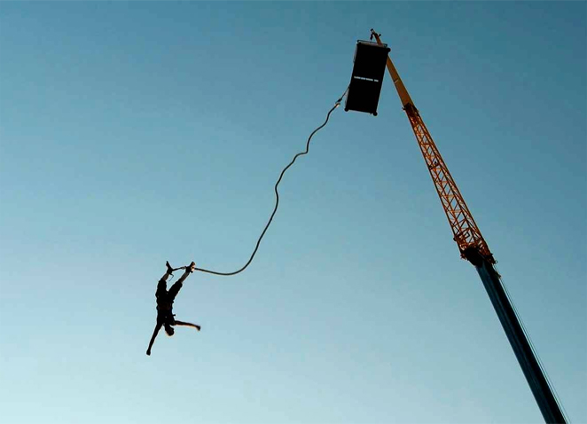amazing bungee jumping destination of india. Black Bedroom Furniture Sets. Home Design Ideas