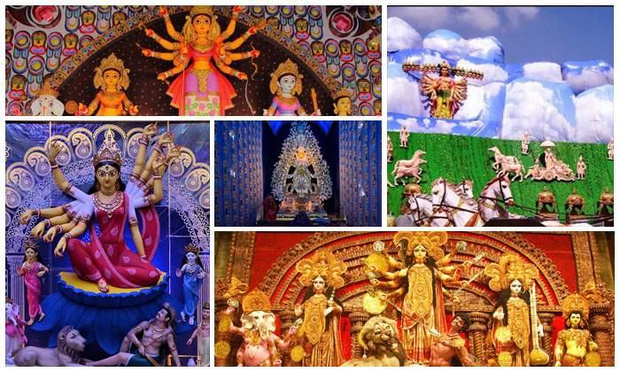 Beautiful Durga Puja Pandals In Kolkata