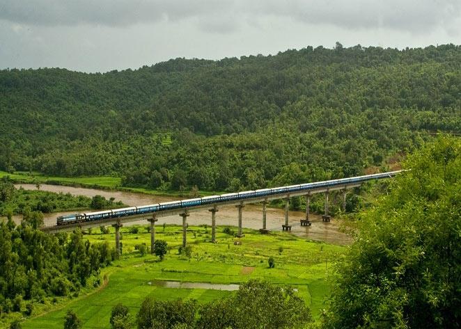 Image result for Mandovi Express (Mumbai to Goa)