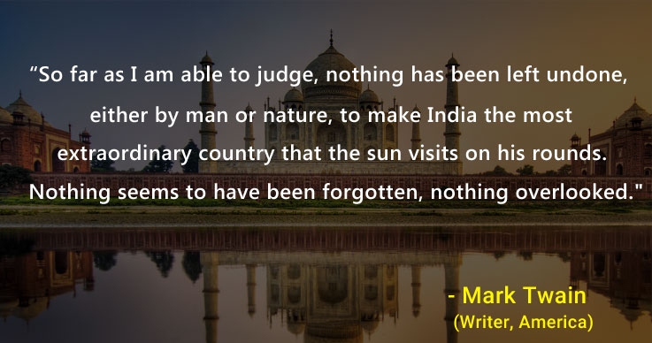 Best Quotes on India that Fill Us with Glory at EaseMyTrip.com