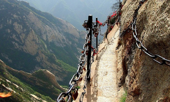 Mount Huashan Heavenly Stairs, China
