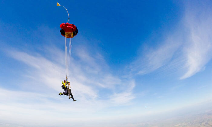 Amazing Places to Enjoy Skydiving in India